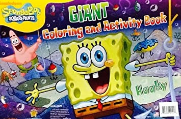 Amazon.com: Nickelodeon SpongeBob Squarepants ~ HOOKY! ~ Oversized ...