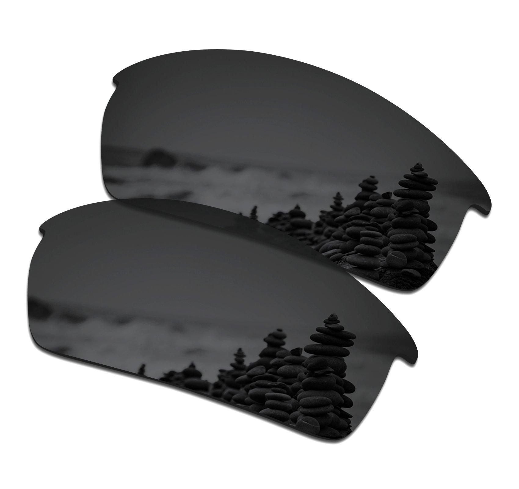 SmartVLT Men's Stealth Black Replacement Lenses for Oakley Bottlecap Sunglass