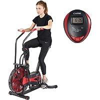 Care Fit CA-700 Air Bike hometrainer met luchtweerstand, 6 trainingsprogramma's, ellipstrainer, 2 in 1 6 functies voor…