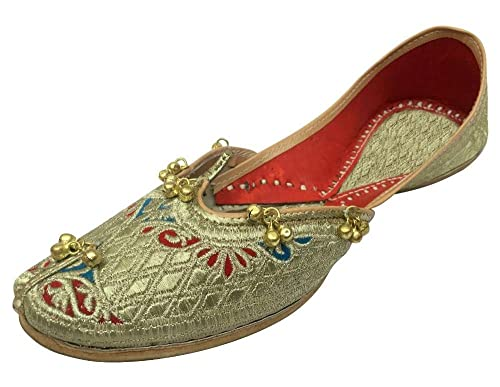 Step n Style Mujer jutti?–?Zapatos de piel, color Dorado, talla 36