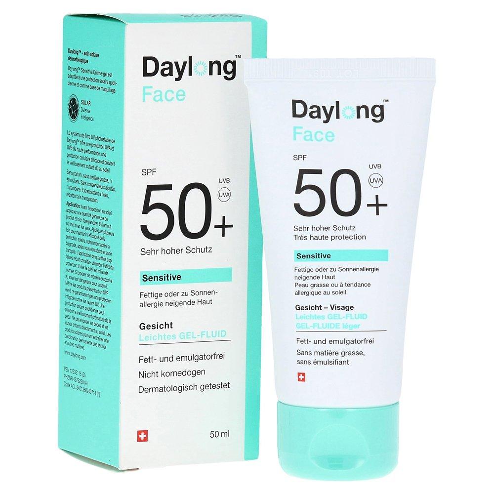 Daylong face sensitive spf50 light face gel fluid - 50ml 8245