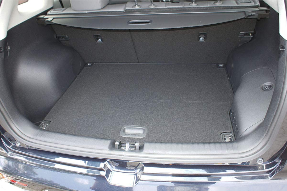 additional description: with//without subwoofer; upper boot 7050 cod from 08.2016- Tailored Trunk Mat with Antislip Hybrid MTM Boot Liner Niro//Niro PEHV