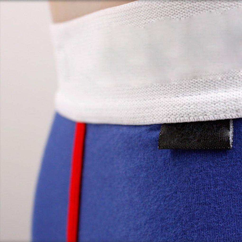 6e403d22ff Amazon.com  Omkuwl Men s Underwear Navy Style boxer Cotton Briefs Charming  Underwear Shorts Indigo blue M  Home   Kitchen