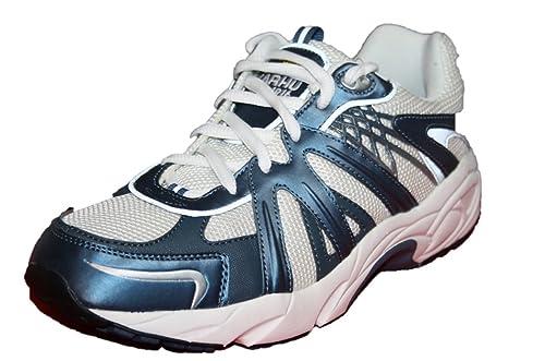 Karhu - Zapatillas de Deportes de Interior de material sintético Hombre, Blau (Blue/White), 35: Amazon.es: Zapatos y complementos