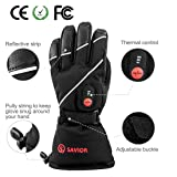 Savior Heated Gloves with Rechargeable Li-ion