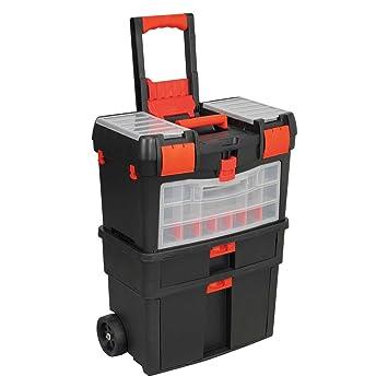 Generic - Caja de herramientas con ruedas, mecánica, con ruedas, para el pecho