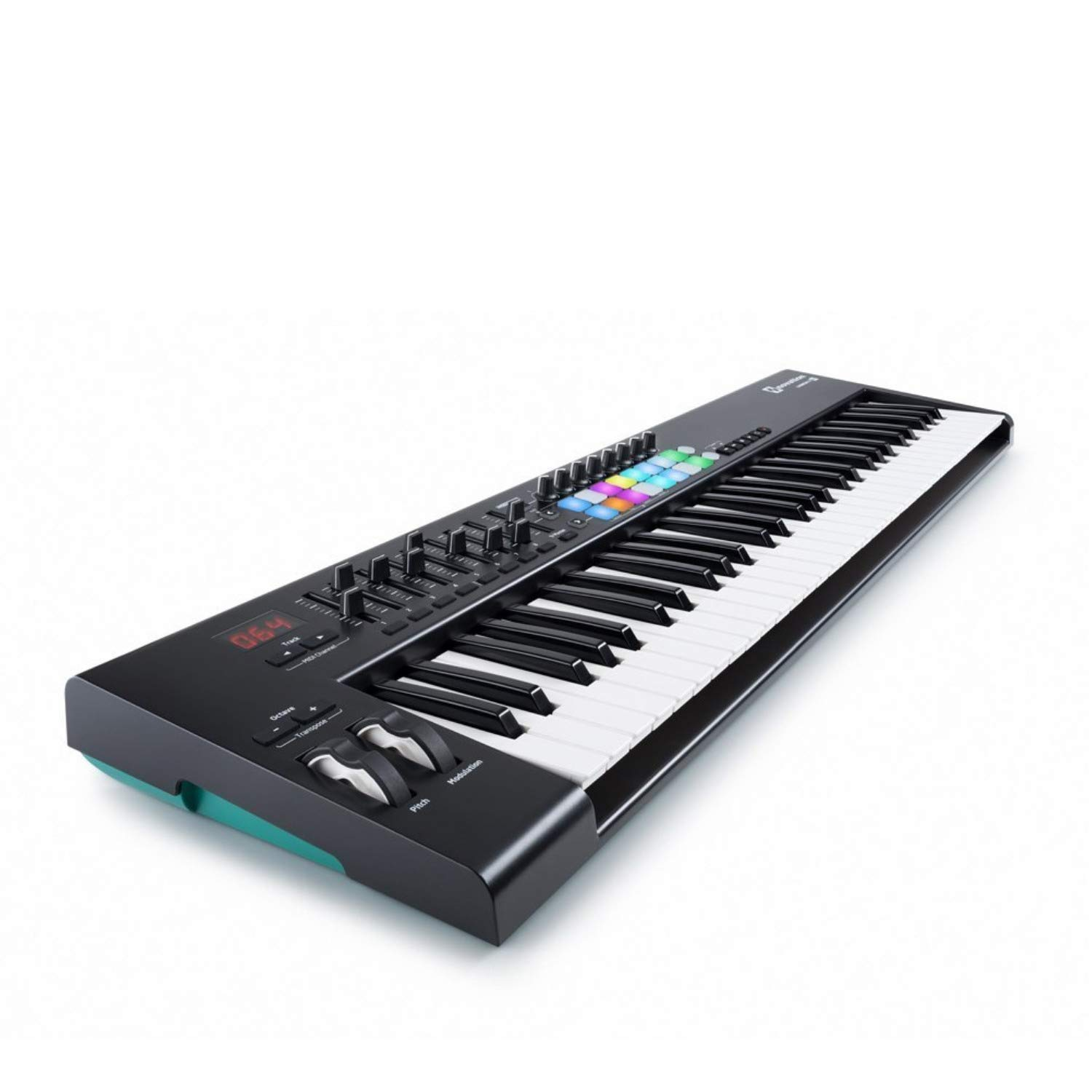 Novation Launchkey 61 MK2 Keyboard Controller with Knox Keyboard Stand and Sustain Pedal by Novation (Image #5)