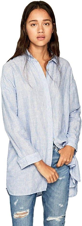 Pepe Jeans - PL303677 Gigi - Camisa Mujer: Amazon.es: Ropa y accesorios