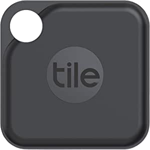Tile Pro (2020) 1-pack - High Performance Bluetooth Tracker, Keys Finder and Item Locator for Keys, Bags, and More; 400 ft Range, Water Resistance and 1 Year Replaceable Battery