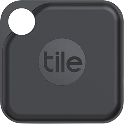 Tile Pro (2020) Bluetooth key finder, 1-pack, 120 m range, 2 years battery life, incl. Community Search function, iOS and Android App, compatible with Alexa and Google Home; Black: Amazon.de: Navigation & Car HiFi