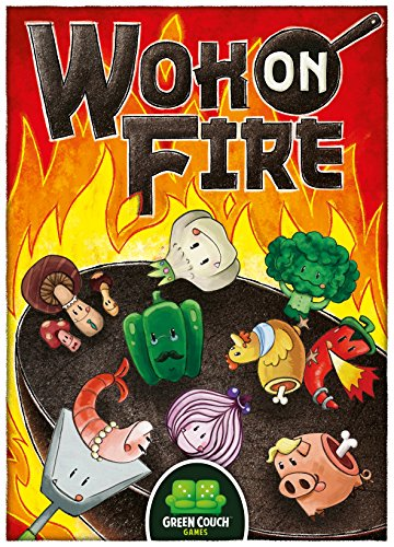 Green Couch Games Wok On Fire Card Game