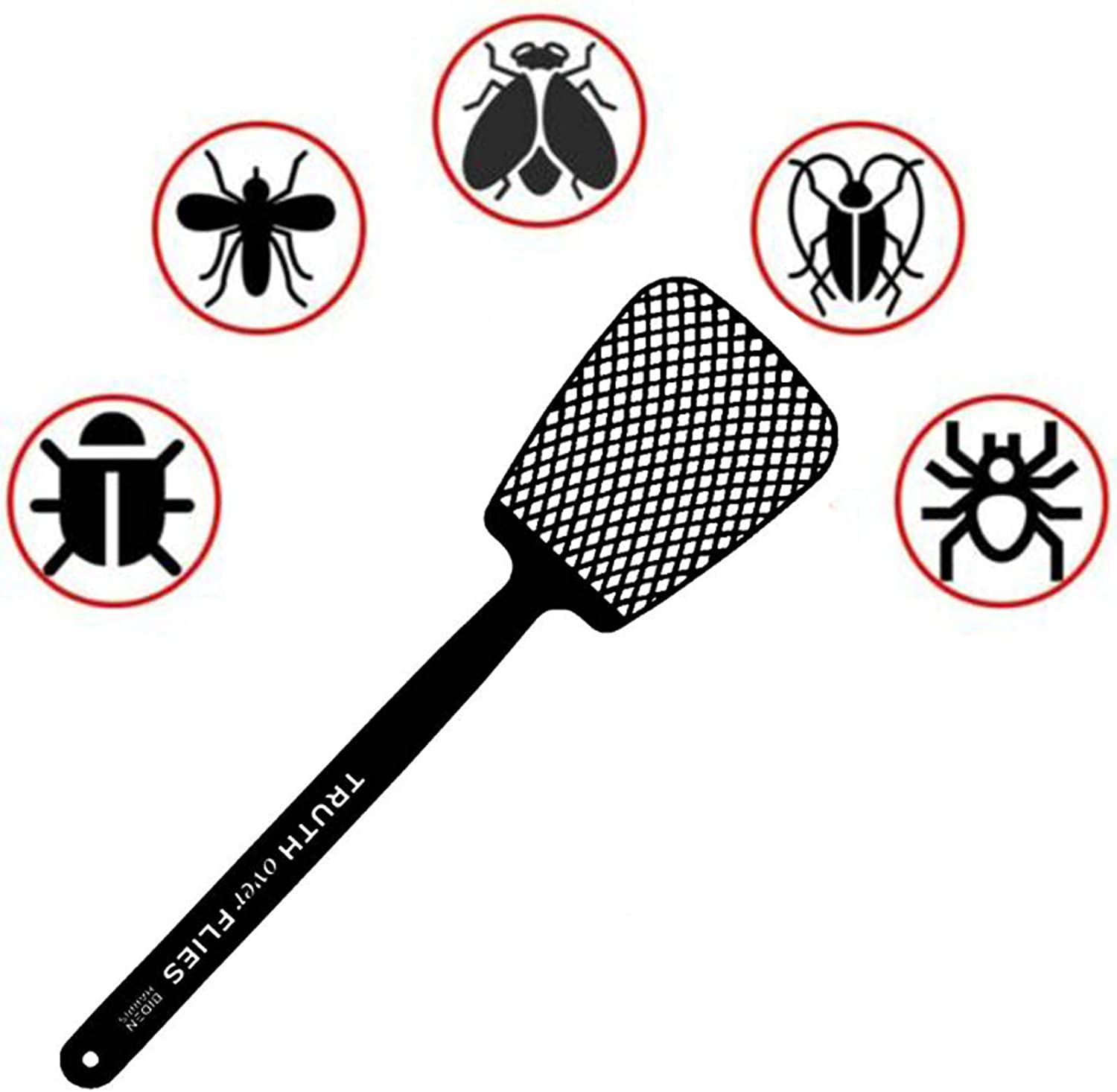Patio, Lawn & Garden Pest Control Long Handle Fly Swatters Manual ...