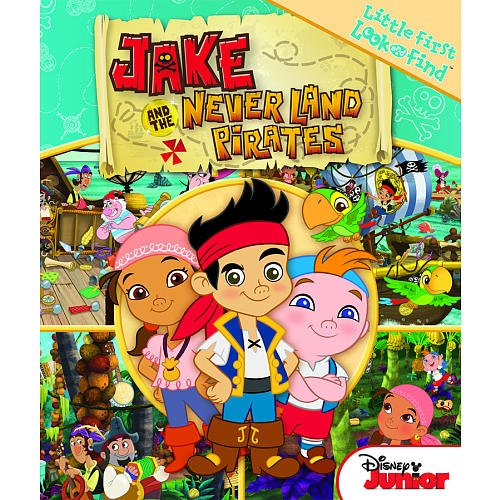 Little My First Look and Find Book Jake & the Neverland Pirates (Pirate Look)