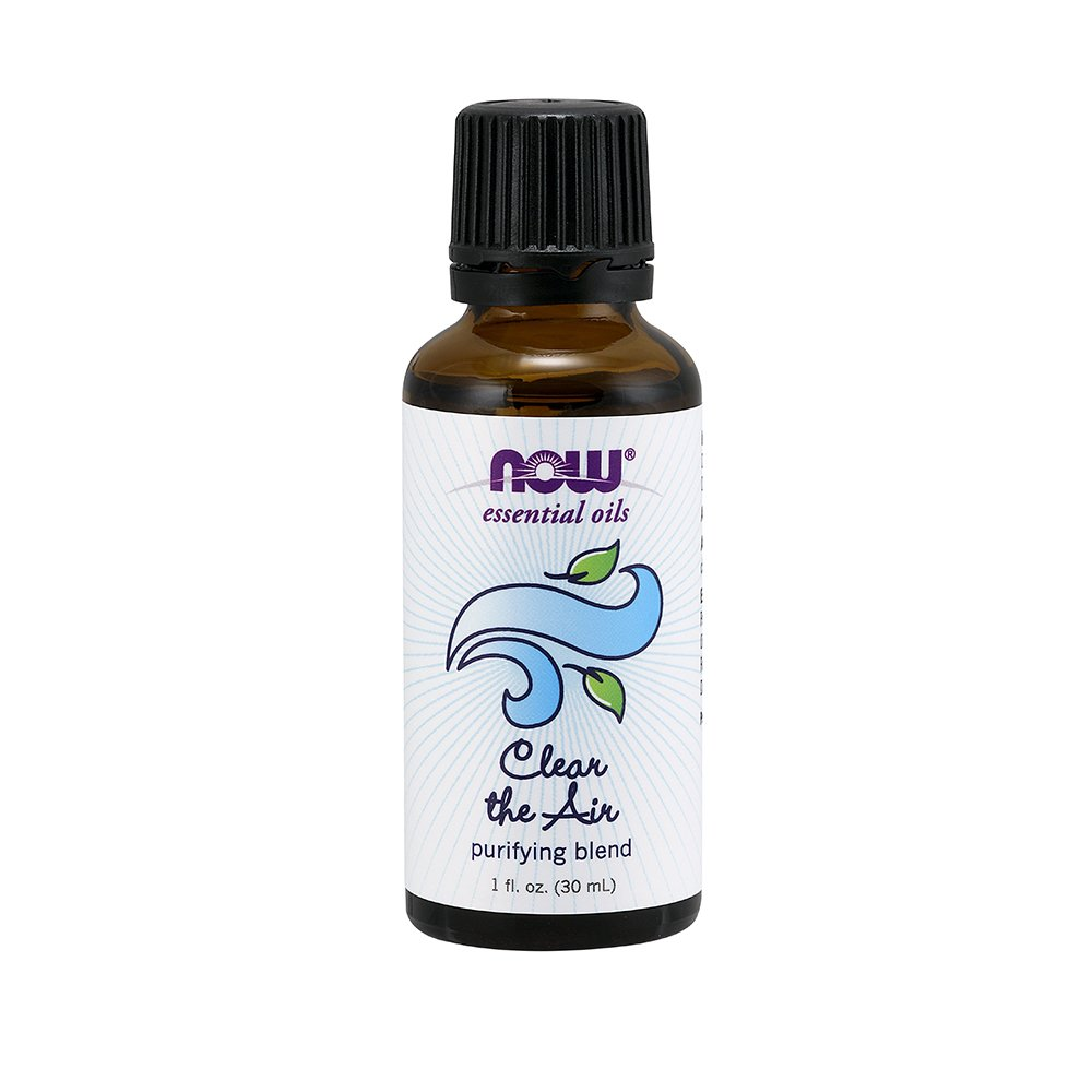 NOW Clear The Air Essential Oil Blend, 1-Ounce NOW Foods 733739076052