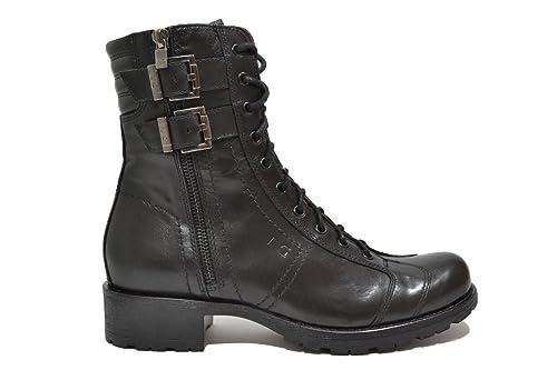 NERO GIARDINI Anfibi tronchetti nero 9860 scarpe donna mod. A719860D