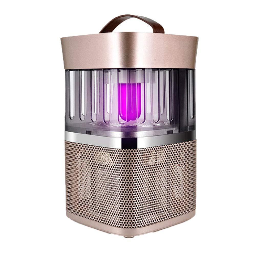 Photokatalysator Anti-Moskito-Lampe Stumm Keine Strahlung Geeignet Für Schlafzimmer Wohnzimmer Wohnzimmer Etc. (Farbe: Gold),Gold