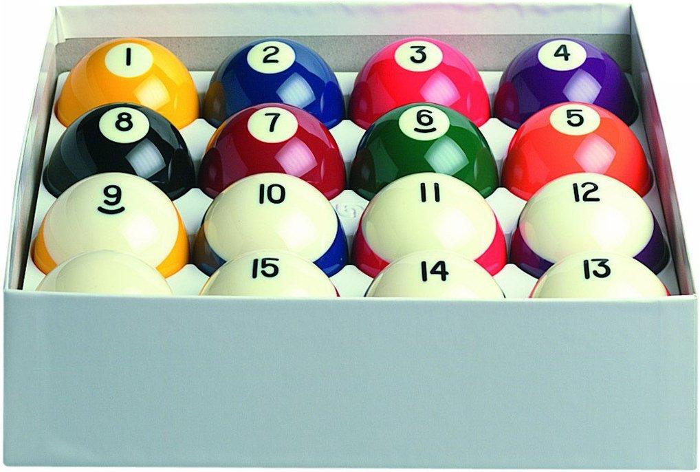 "Aramith 2-1/4"" Regulation Size Crown Standard Billiard/Pool Balls Complete 16.. 4"