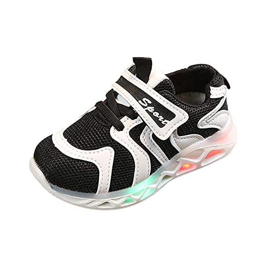 6f756b5886393 Baby Toddler Boys Girls Led Light Up Shoes Sneaker 1-6 Years Old Kids Child