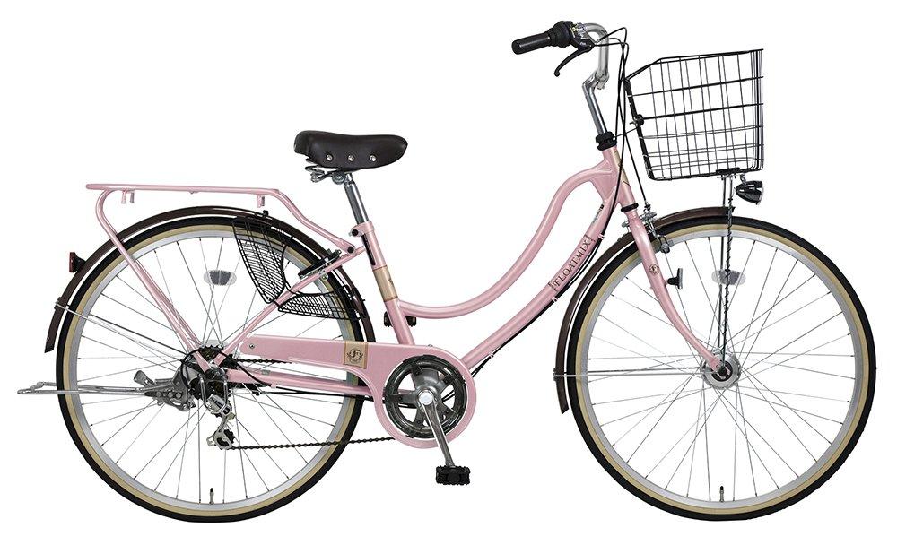 ファッションサイクル外装6段LEDオートライトフロートミックス B079L7KNBT ピンク ピンク