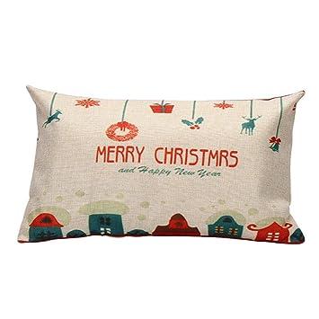 gallity feliz Navidad funda de almohada Regalos muñeco de ...