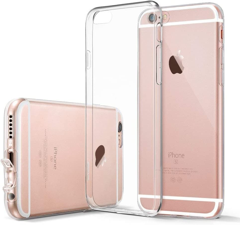iPhone 6s Case Ultra Thin Clear Soft Gel TPU Silicone Case Cover Compatible with iPhone iPhone 6//6s 4.7 inches SHOUJZHIJ020