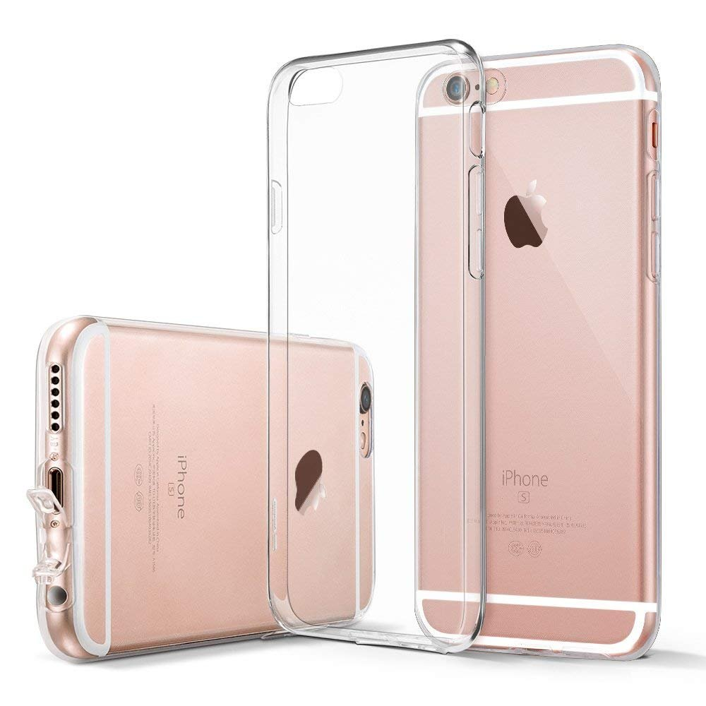 iPhone 6s Case, Ultra Thin Clear Soft Gel TPU Silicone Case Cover Compatible with iPhone iPhone 6/6s 4.7 inches - SHOUJZHIJ018