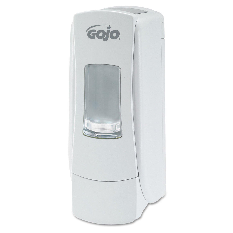 GOJO 8780-06 ADX-7 White Compact Dispenser, 700mL Capacity