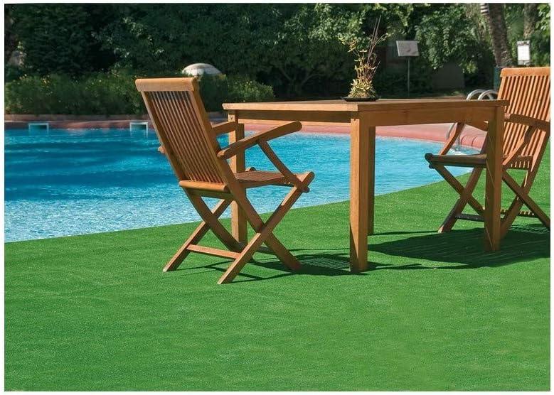 7mm de altura LUCATEX C/ésped artificial YESTE rollo 2x15 metros jard/ín piscinas ideal para perros y otras mascotas alta densidad ideal para exteriores terrazas