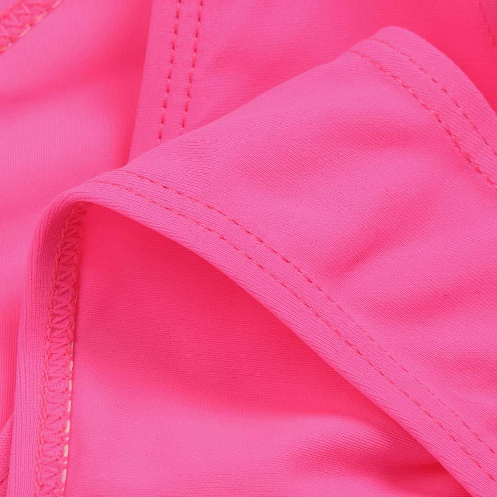 Baby Swimsuit for Girls Waymine Solid Tassel Bikini Set Bathing Swimwear 5-12T