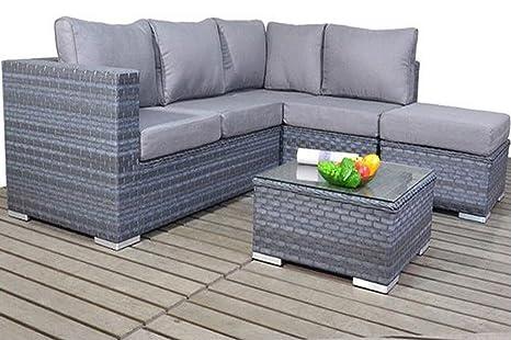 Divano Ad Angolo Piccolo : Platinum piccolo divano ad angolo colore grigio destra amazon