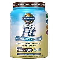 Garden of Life Raw Organic Fit Powder, Organic & Non-GMO Vegan Nutritional Shake