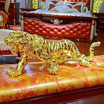 Xuanku Lucky Tiger Oficina Decoracion Decoracion De Salon Decoracion Casa Muebles Coche De Resina Artesanias Regalos