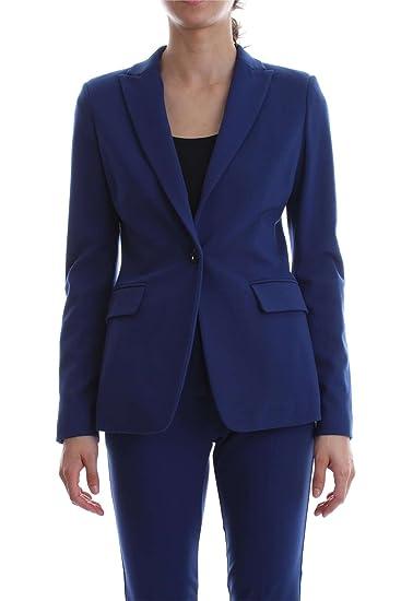 Pinko SIGNUM 1 GIACCA E BLAZER Donna Blu 44  Amazon.it  Abbigliamento a77611d81c0