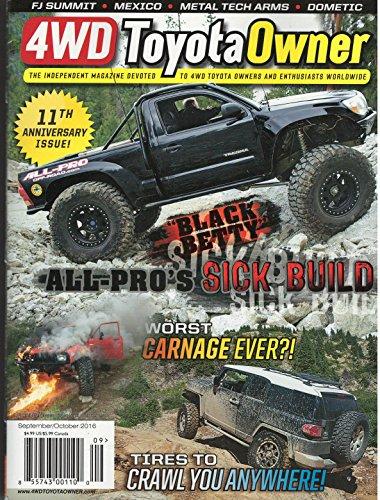 4WD Toyota Owner Magazine Septeber October 2016
