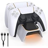 A base TwiHill é adequada para controlador PS5, estação base Playstation 5, para gamepad sem fio Sony DualSense PS5…