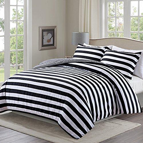 Moliy Lightweight 3pc Duvet Cover Set with 2 Pillow Shams,Mi