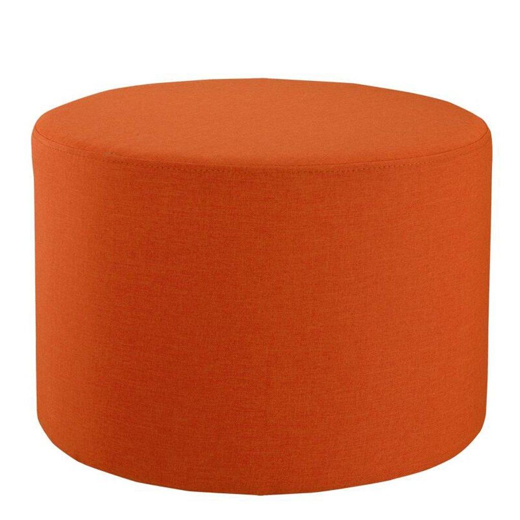 Silla Rollsnownow Naranja Goma Caucho + Esponja sofá Taburete Zapatos para Taburete Taburete bajo Mesa cómodo y Transpirable