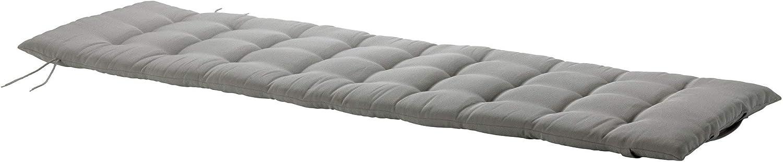 Ikea Hallo Coussin de Chaise Longue Gris 190 x 60 cm