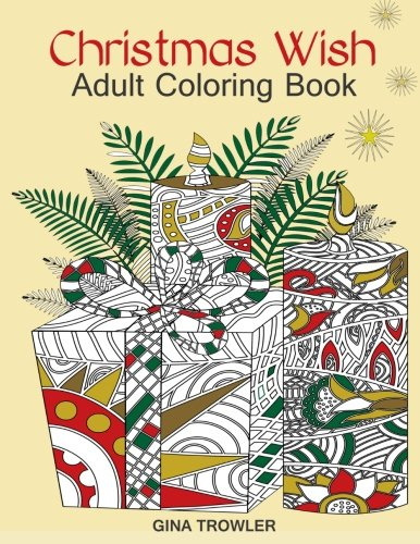 Adult Coloring Book Christmas Relaxation product image