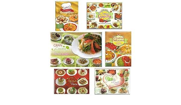 Pack, Cocina Doña Lupita, 6 T. 2012. Precio En Dolares: IBALPE: Amazon.com: Books