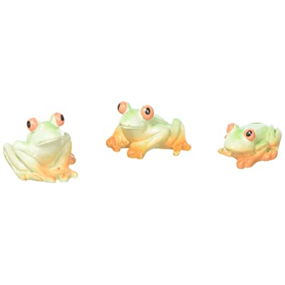 Darice DCZS14008 Mini Frogs Resin: Home & Kitchen