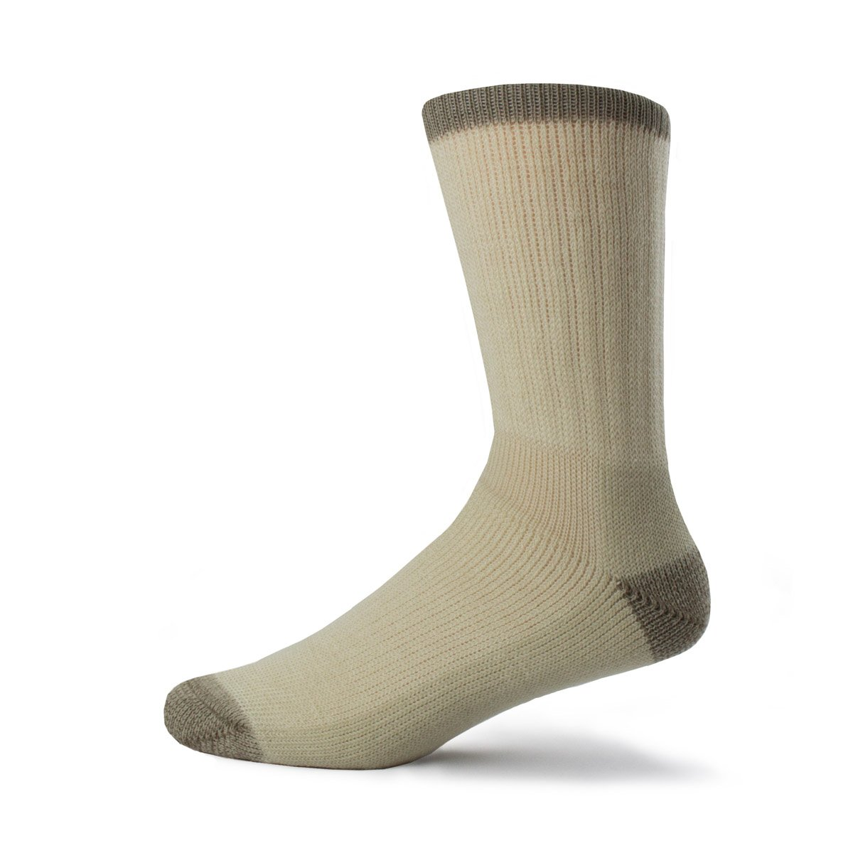 Minus33 Merino Wool Day Hiker Sock, Natural Tan, Medium by Minus33 Merino Wool