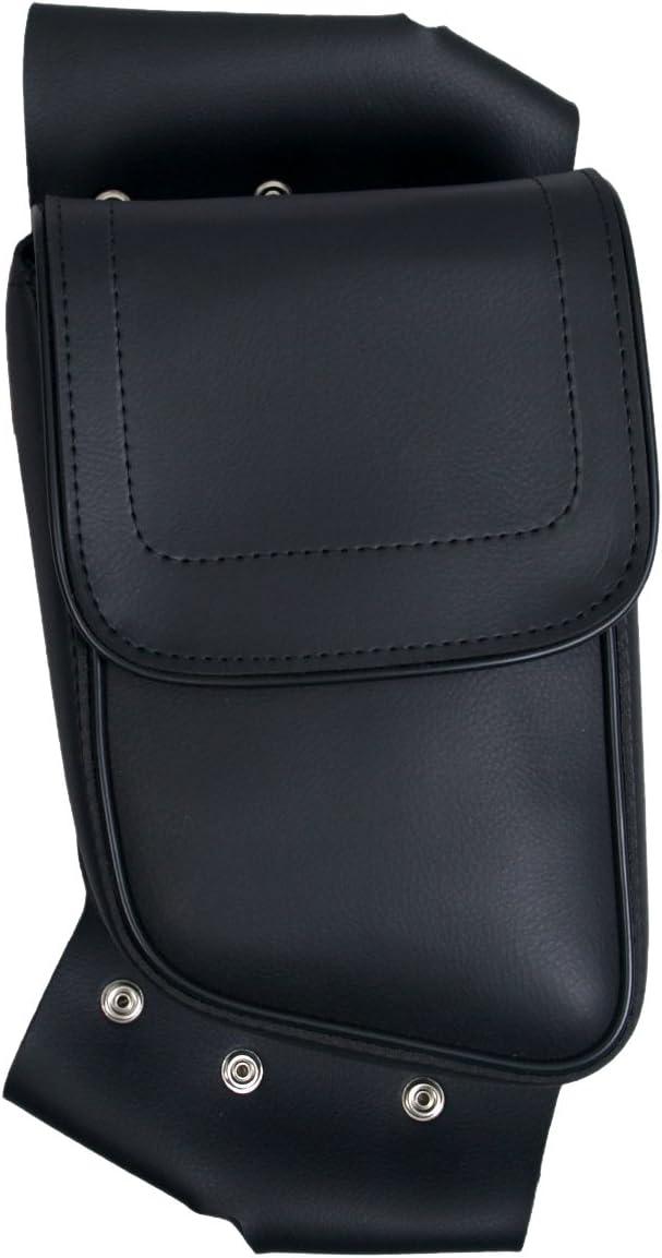 Large Pocket Left Side Hot Leathers FCA1003-10755 Motorcycle Fairing Case