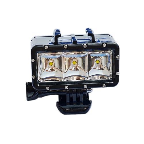 Suptig 30m impermeabile ad alta potenza LED luce video fill luce notturna luce immersione per GoPro HERO5/5S/4/4S/3+/3/2SJCAM SJ4000/SJ5000/SJ6000/SJ7000Xiaoyi