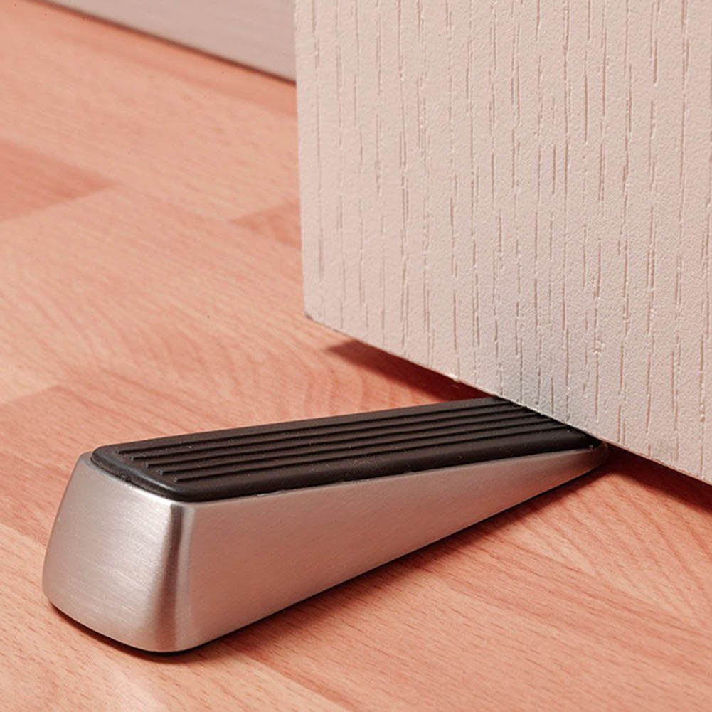 Amazon.com  [2 Pack] Doorstop / Door Buffers Made of Stainless Steel and Rubber Non-Slip Robust Door Wedge Black / Silver  Office Products & Amazon.com : [2 Pack] Doorstop / Door Buffers Made of Stainless ... pezcame.com