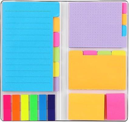 Größen * * 5 x Haftnotizen *Klebezettel Sticky Notes versch Marker NEU