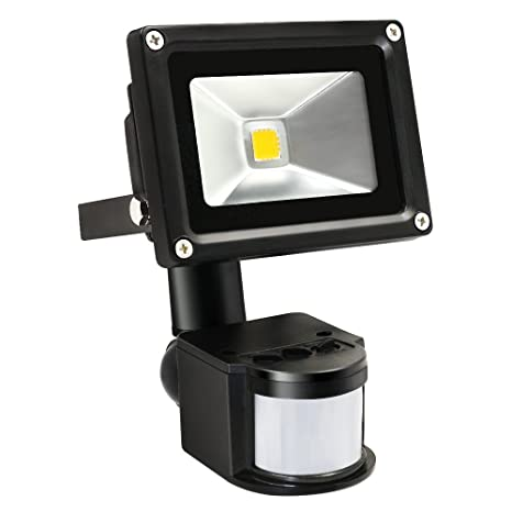 Torchstar motion sensor led light 10w high power flood lights torchstar motion sensor led light 10w high power flood lights waterproof pir sensor security light aloadofball Images