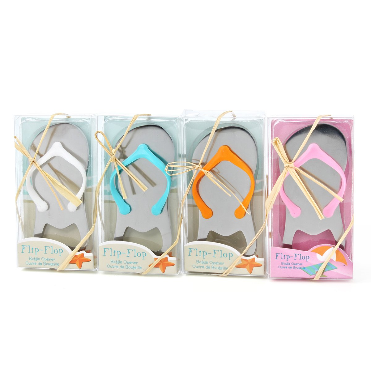 Amazon.com: 10-Pack Personalized Flip-Flop Bottle Openers, Engaved ...
