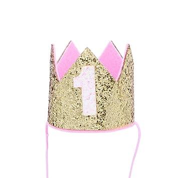Blume Prinzessin Baby Kleinkind Geburtstag Plastik Tiara Junge Krone