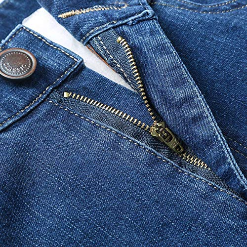 Stretch Vita Uomo Moderna In Jeans Traspiranti Fit Blu Denim Media Casual A Slim Con ztppw6q